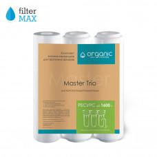 Master TRIO Комплект змінних картриджів для проточних фільтрів